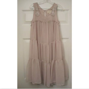 H&M Conscious Collection Embellished Dress Pink 6
